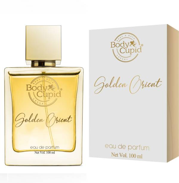 Body Cupid Golden Orient Perfume for Men & Women - Citrus, Floral, Spicy, Musky, Woody & Balsamic Notes - 100 ml Eau de Parfum  -  100 ml