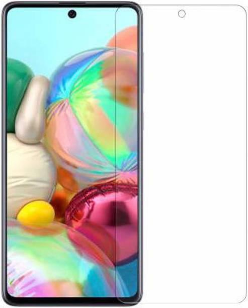 geleser Tempered Glass Guard for Samsung Galaxy A81, Samsung Galaxy A91, Samsung Galaxy A71, Samsung Note 10 Lite