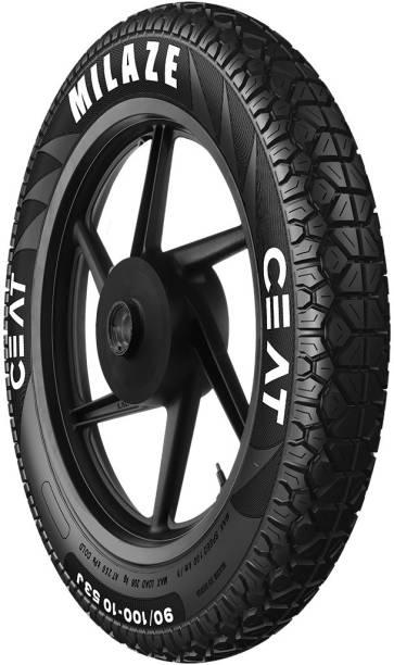 CEAT 102982 MILAZE TT 53J 90/100-10 Front & Rear Tyre