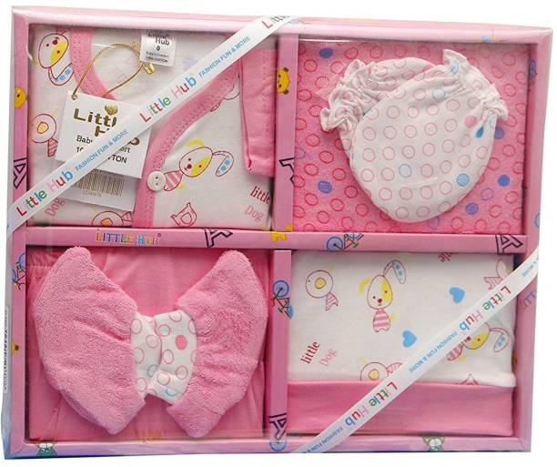 LITTLE HUB New Born Baby Gift Set