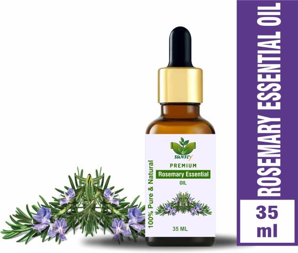 Sunfly 100% Pure & Natural Rosemary Essential Oil-35ML