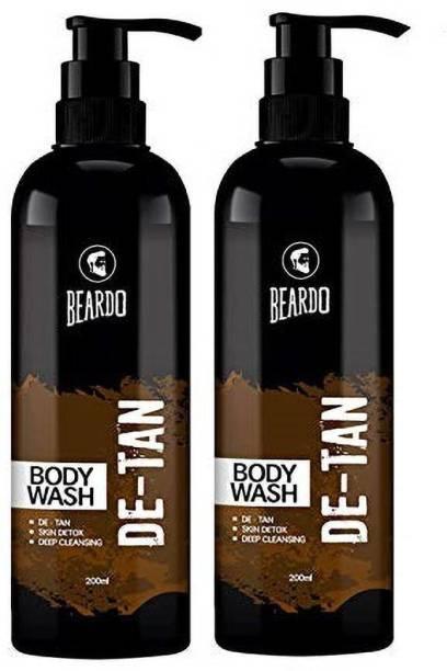 BEARDO De-Tan Bodywash Combo For Men