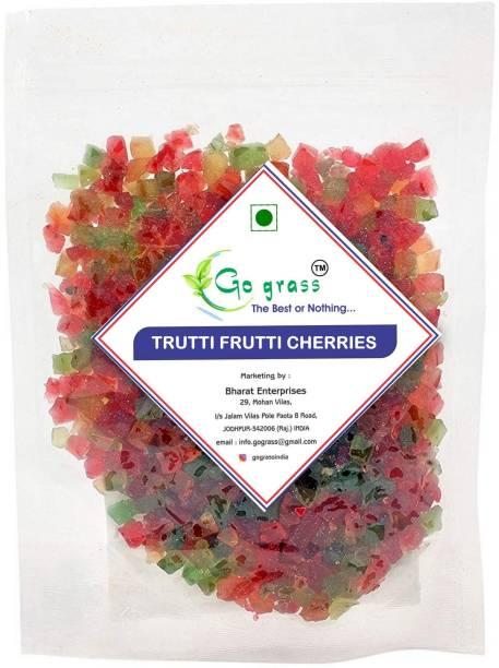 GO GRASS TUTTI FRUTTI CHERRIES MIX FRUIT Jelly Candy