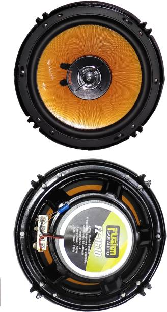 Cave Fusion 6-Inches Coaxial Car Speaker With Inbuilt Tweeters FZ-1610 Coaxial Car Speaker