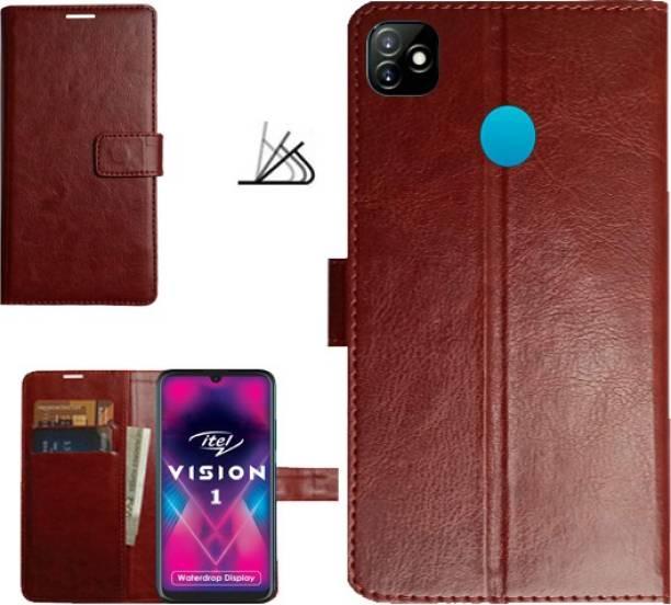 MYSHANZ Flip Cover for itel vision 1, itel vision 1 flip cover, itel vision 1 mobile flip cover