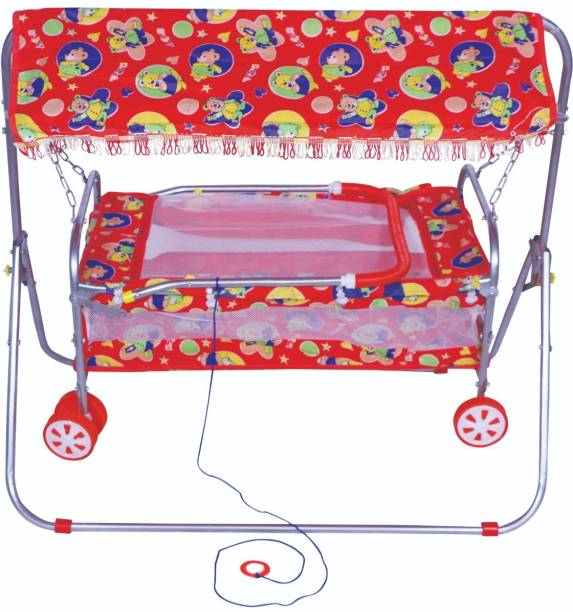 Childcraft New Baby Cradle With 6 Wheels Bassinet