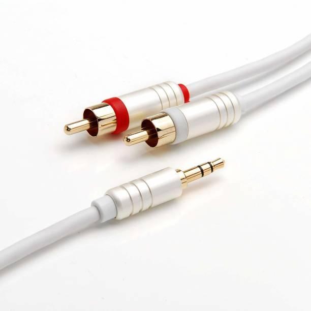 BlueRigger 3.5MM-RCA-8FT 2.4 m AUX Cable
