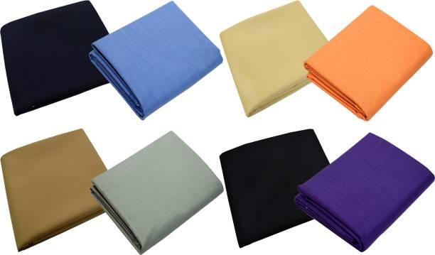KUNDAN SULZ GWALIOR Polycotton Self Design Shirt & Trouser Fabric