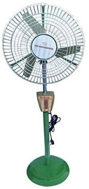 almonard 18 Inch 450MM Air Circulator 450 mm Ultra High Speed 3 Blade Pedestal Fan