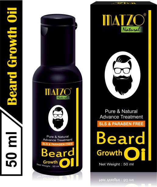 Matzo Pure and Natural Beard Growth Oil Hair Oil