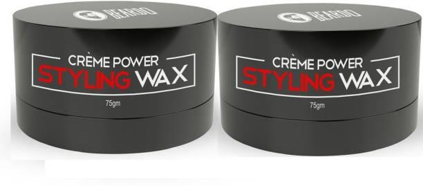 BEARDO Creme Power Hair Styling Wax Combo For Men Hair Wax