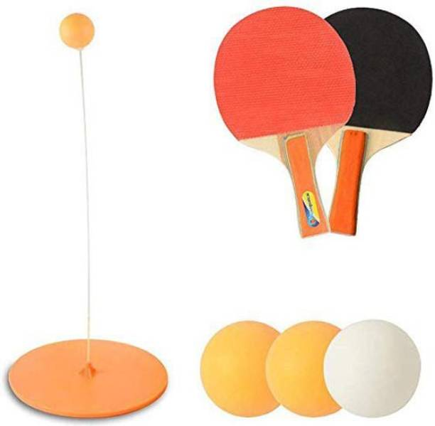 IRIS Table Tennis Trainer, Table Tennis Rebound Trainer, Table Ping-Pong with Elastic Soft Shaft, Leisure Decompression Sports, Self-Training Device for Adults Children Table Tennis Kit
