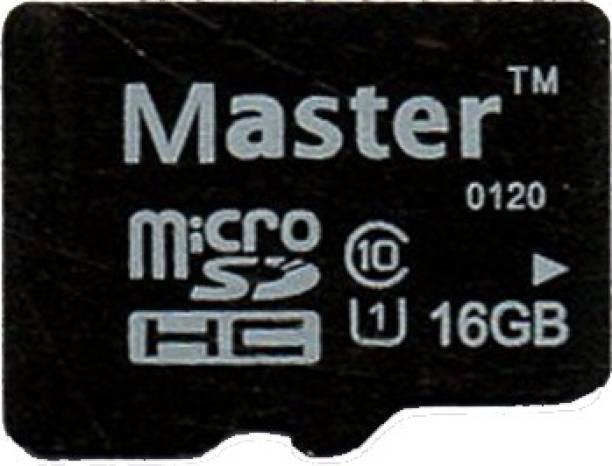 Master 10 16 GB SD Card Class 10 90 MB/s  Memory Card