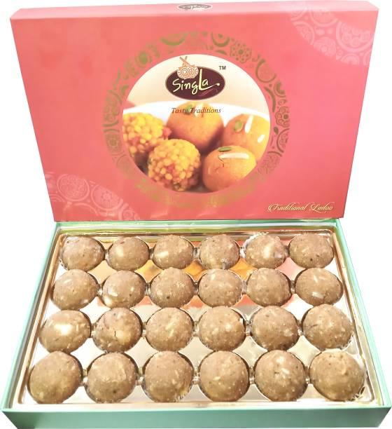 Singla Atta laddu 500 gm , best quality atta ladoo Box