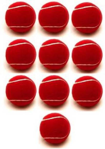 SBM red solid ball (pack of 6).. Cricket Tennis Ball