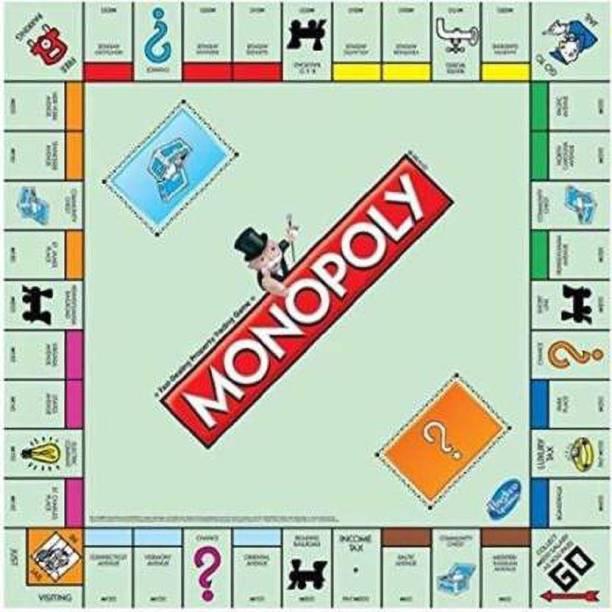 AV INT Monopoly - India Edition Board Game Board Game Board Game Accessories Board Game Board Game Accessories Board Game
