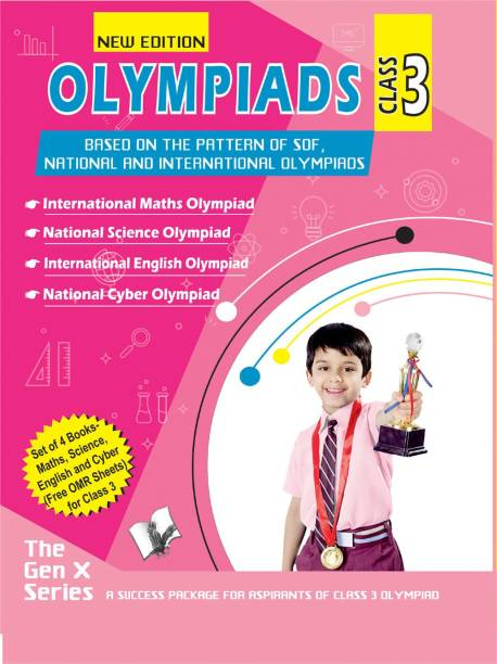 Olympiad Value Pack Class 3 (4 Book Set)