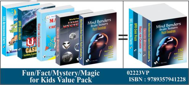 Fun/Fact/Mystery/Magic/ For Kids Value Pack