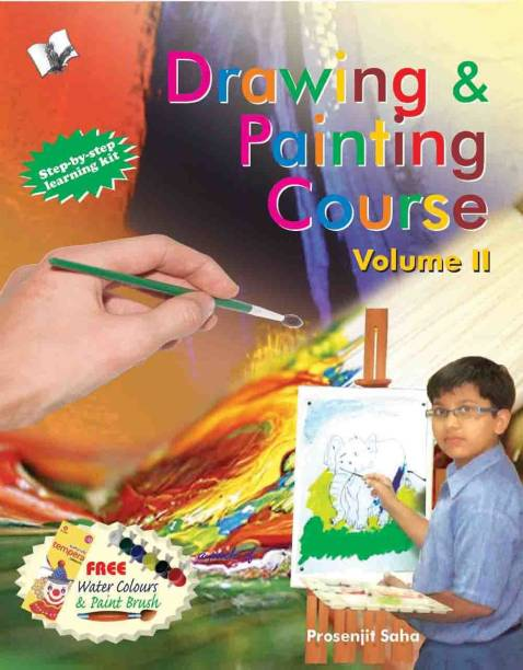 Drawing & Painting Course Volume - 2 - Step by Step Learining Kit 1 Edition