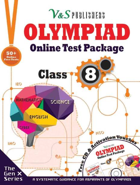 Olympiad Online Test Package Class 8 (Free CD With Activation Voucher)