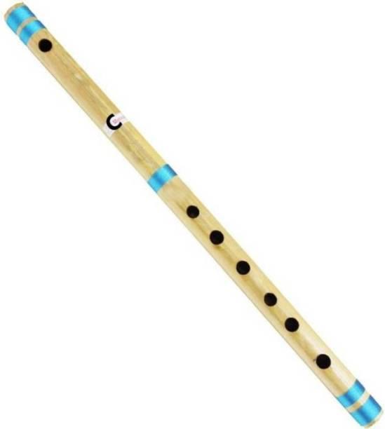 Foora Musical C Sharp Medium Right Hand Bansuri 19 inches Bamboo Flute