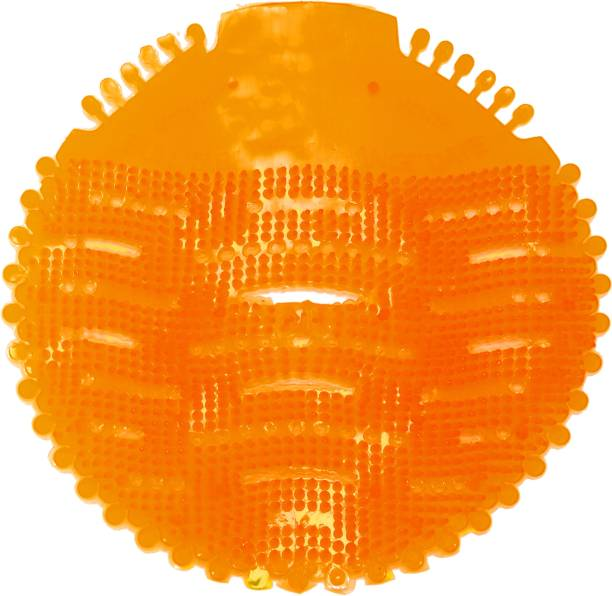 Vahni Orange Urinal Screen Orange Mat Toilet Cleaner (10 x 1 Wipes) Orange Mat Toilet Cleaner