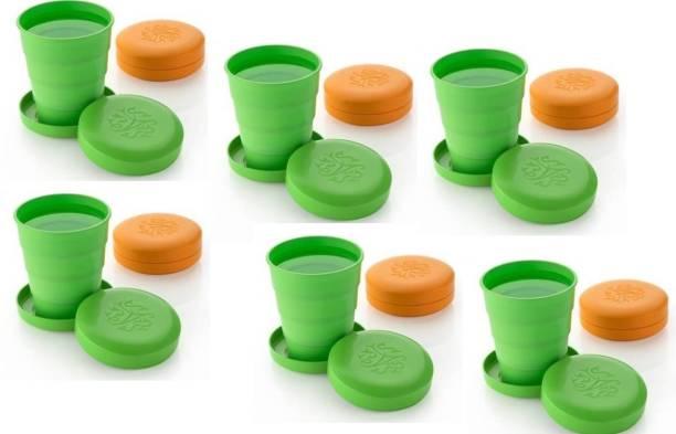 KEWIN (Pack of 12) FOLDING GLASS SET OF 12 PIECE STYLISH DRINK Glass Set