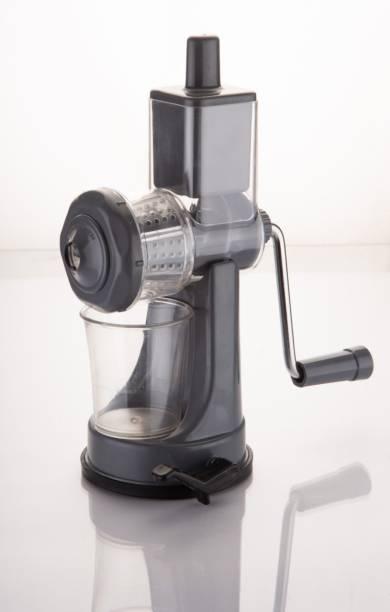 Bluewhale Plastic Hand Juicer New Fruit & Vegetable Mini Hand juicer Grey