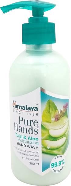 HIMALAYA Tulsi and Aloe Moisturizing Hand Wash Pump Dispenser