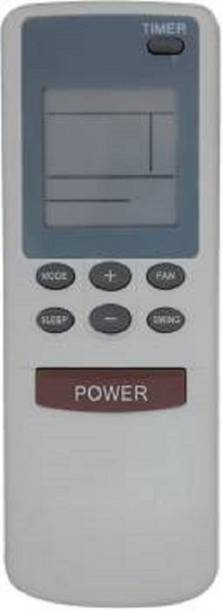 POOJA compatible to CARRIER AC REMOTE 128 AC Remote No. 128, Compatible for CARRIER AC 128 Remote Control - Old Remote Must be Exactly Same, Send Old Remote Picture at 9822247789 (WhatsApp) for Verification Remote Controller (White) Remote Controller