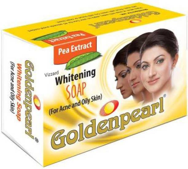 Vizzard GOLDEN PEARL WHITENING SOAP 100g (ACNE AND OILY SKIN) (g 100)