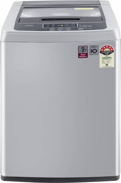 LG 6.5 kg 5 Star Inverter Fully Automatic Top Load Silver