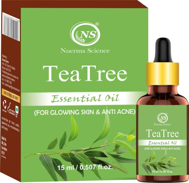 Nuerma Science Tea Tree Essential Oil (100% Pure and Natural, Therapeutic Grade)