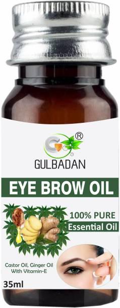GULBADAN Eyebrow & Eyelash Growth Oil For Women 35 ml