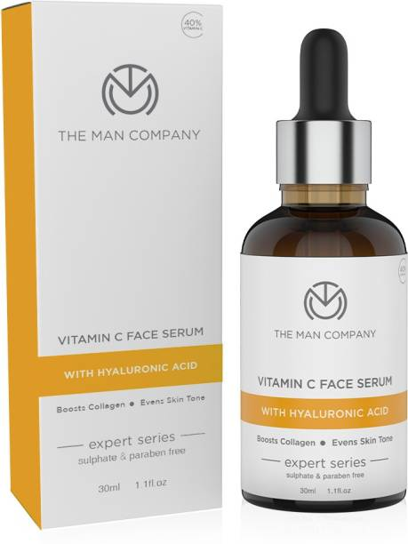 THE MAN COMPANY 40% Vitamin C Face with Hyaluronic Acid for Brightening and AntiAging