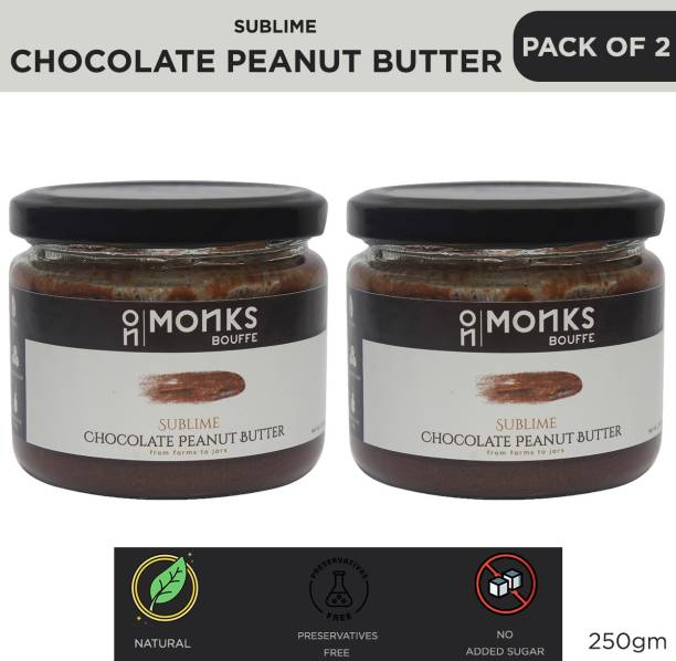 Monks Bouffe Sublime Chocolate Peanut Butter 250 g