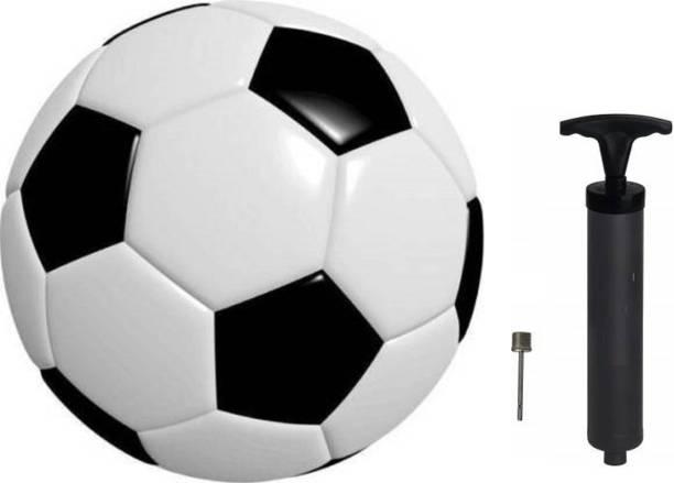 Kiraro Set of 1 Football with 1 Inflation Pump and Needle Football Kit