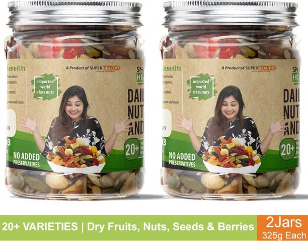 Super Healthy Nuts, Seeds and Berries   Healthy and Nutritious Snacks  20+ varieties