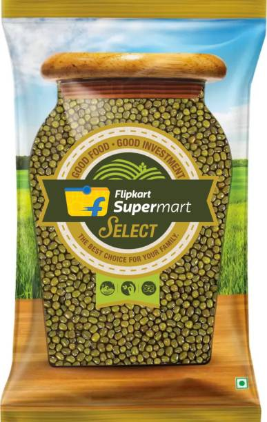Flipkart Supermart Select Green Moong Dal (Whole)