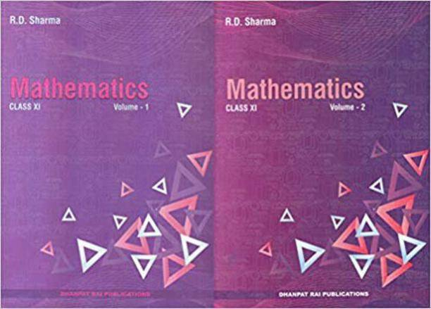 Mathematics For Class -11 By R D Sharma (Set Of 2 Volumes) For ( 2020-2021) Examination