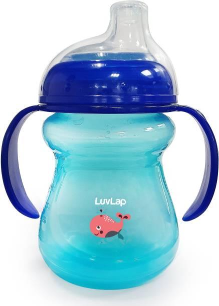 LuvLap Mobby Little Spout Sipper, BPA Free, 240 ml, 6m+