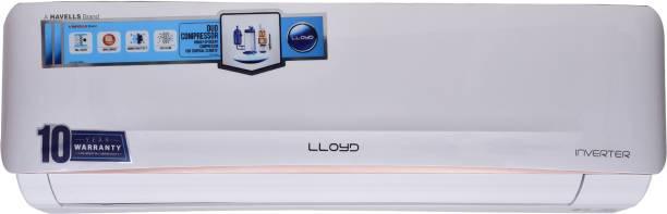 Lloyd 1.5 Ton 5 Star Split Inverter AC with PM 2.5 Filter  - White