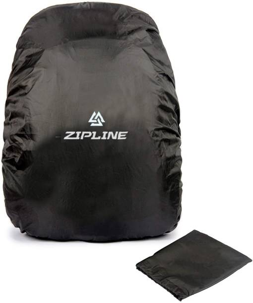 Zipline Rain & Dust Cover For Backpack Dust Proof, Waterproof Laptop Bag Cover, School Bag Cover, Trekking Bag Cover