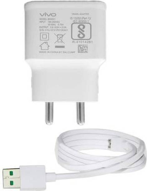 ViVO FAST 2.1 AMP OUTPUT ADPTOR WITH ORIGINAL DATA CABLE 4.2 A Mobile Charger with Detachable Cable