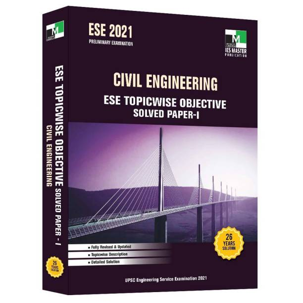 ESE 2021 Civil Engineering ESE Topicwise Objective Solved Paper 1