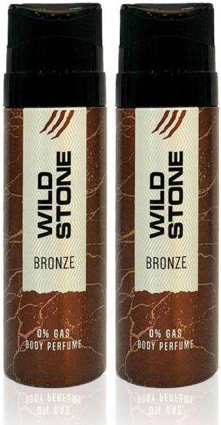 Wild Stone bronze combo Body Spray  -  For Men