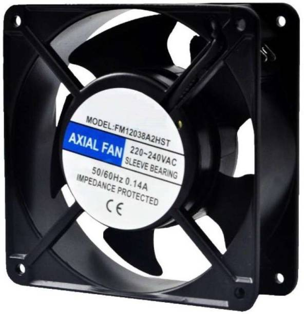 "Divinext 220V AC Metal Body Axial Fan AC Cooling Fan Panel Fan 4"" Brushless Blower Cooler"