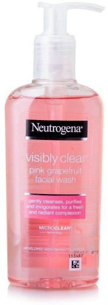 NEUTROGENA Visibly Clear Pink Grapefruit Facial Wash 200ml Face Wash