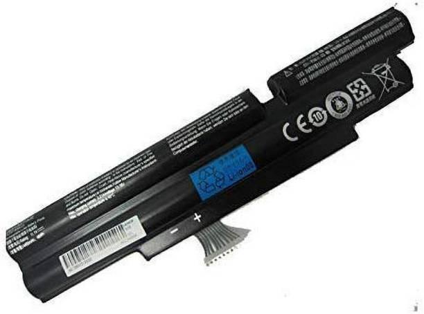 Techie Laptop Battery Compatible for Aspire - 3830T 4830T 5830T AS3830T AS4830T AS5830TG AS11A5E AS11B5E(Black Color) 6 Cell Laptop Battery