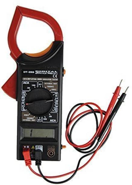 SVE Super New Ac/ Dc Digital Clamp Meter ,Multimeter Auto Ranging Amp Current Voltage Measurement Device, Ammeter Tong Tester with Accuracy Multimeter Digital Multimeter